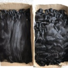 Hair Remy Indian Hair Bulk Double Drawn Unprocessed Raw Virgin Cuticle Aligned Hair Vendors Wholesale Indian Hair Remy 100 Human Hair Bulk For Braiding