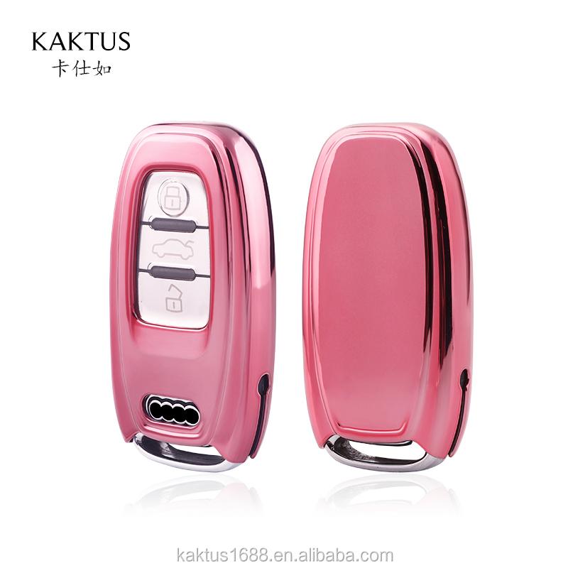 Car Key Case For AUDI S8 Car Key cover TPU Car key protect shell