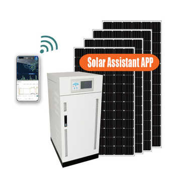 5kw complete solar panel system 10kva off grid solar inverter generator power solar system home for solar energy system