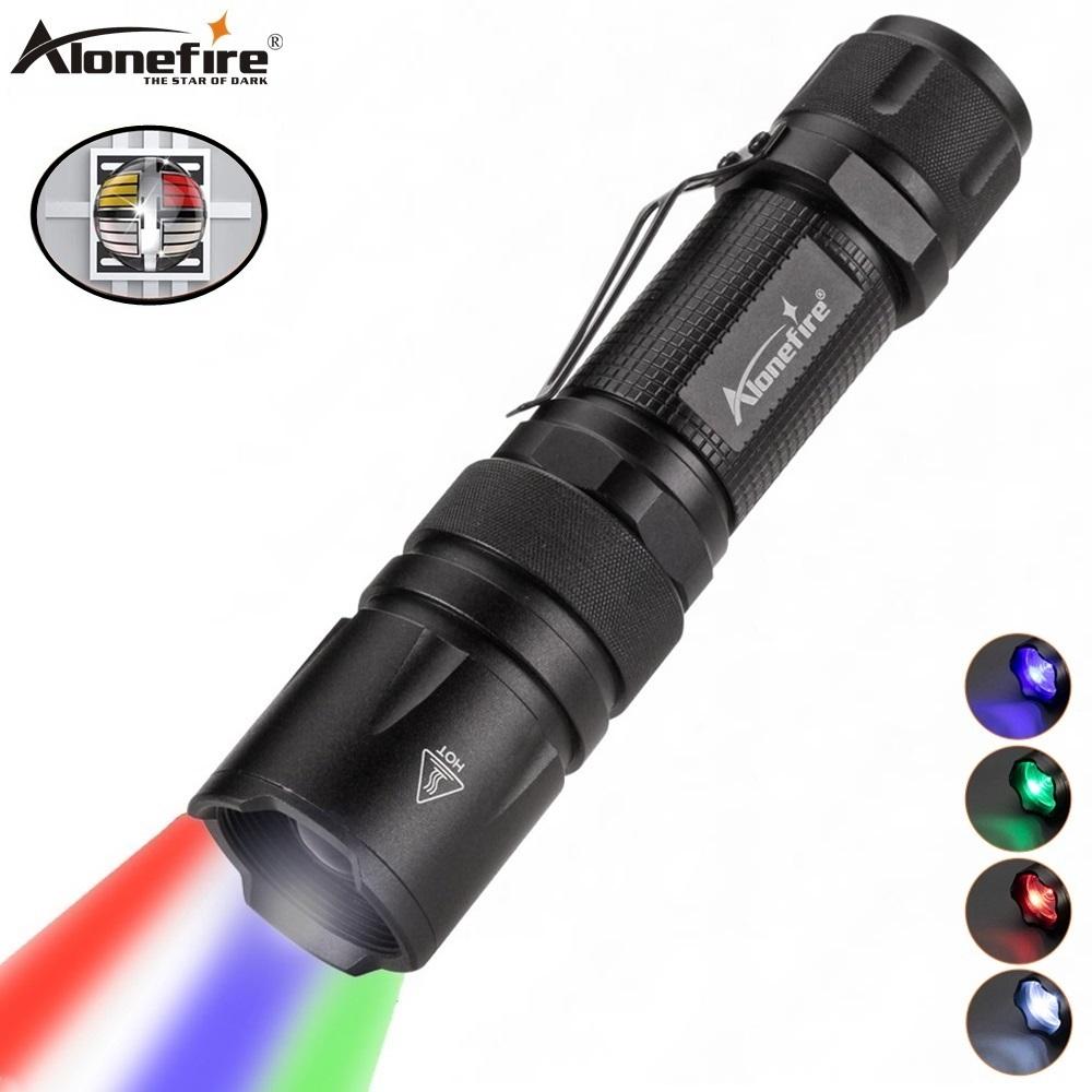 Alonefire X33 4 Trong 1 Đèn Pin Zoom Trắng Xanh Xanh Đỏ Đa Mục Đích Chiếu  Sáng Torch Săn Cá Giọng Hát Hòa Nhạc Glow Sticks - Buy Nhôm Chống Thấm Nước