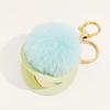 39-Grass green hair ball