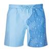 DrChildren's geometris strip ocean blue