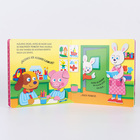Printing Books Hardcover Cheap Book Custom Printing Service Round Corner Finishing Color Printing Hardcover Cardboard Boardbook Children Board Books