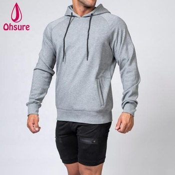 men's hoodie slim fit running warm up fitness mens tracksuit