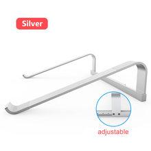 Портативная подставка для ноутбука из алюминиевого сплава, подставка-держатель для ноутбука Macbook Air Pro hp, кронштейн для охлаждения компьютер...(Китай)