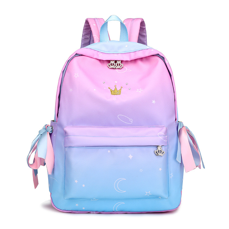 School bag for girls teenagers Large capacity waterproof fashion Beautiful Printing Outdoor Travelling school backpack for girls
