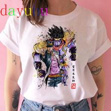Женская футболка Jojo Bizarre Adventure, летняя футболка с японским аниме, Kawaii Jojo, графическая футболка размера плюс, женская футболка унисекс с героя...(Китай)