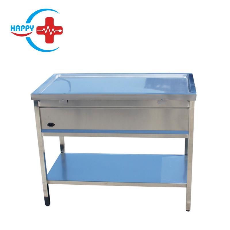 HC-R022 Лидер продаж животный хирургический операционный стол/домашних животных ветеринарная электронное мусорное ведро с автоматическим-весы стол для обработки