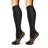 Black-Copper compression socks