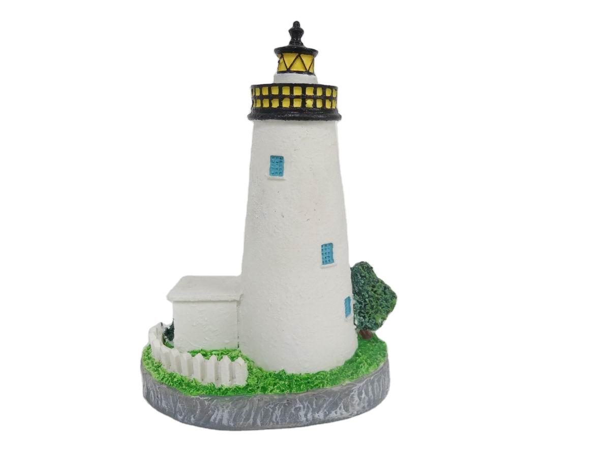Custom Design Resin Popular Building Lighthouse for home decoration