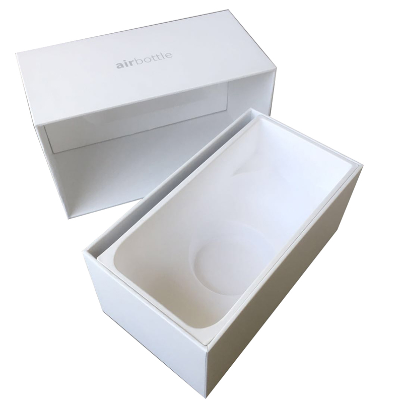 Biodegradable custom luxury paper pulp packaging box tray for gift packaging factory manufacturing best selling packaging box