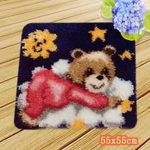 Крючок для вышивания ковров Smyrna, набор крючков для рукоделия, Tapijt Alfombras Kleed Knooppakket с ниткой, Подарочный крючок для кошек(Китай)