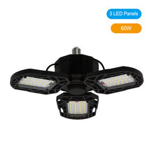 Супер яркий промышленный светильник ing 80W 120W E27 Led вентилятор гаражный светильник 6000LM 220V 2835 Led High Bay промышленная лампа для цеха(China)