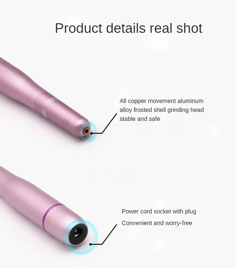 New Hot Long lasting Manicure Machine Cordless Portable Mini Size Polishing Nail Drill Electric Nail Drill Machine