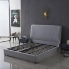 Round Bed Beds Hot-selling Round Modern Luxury European Style Bed Round With Storage Leather Beds