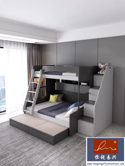 Litera sencilla moderna de madera para muebles de hotel, tamaño grande