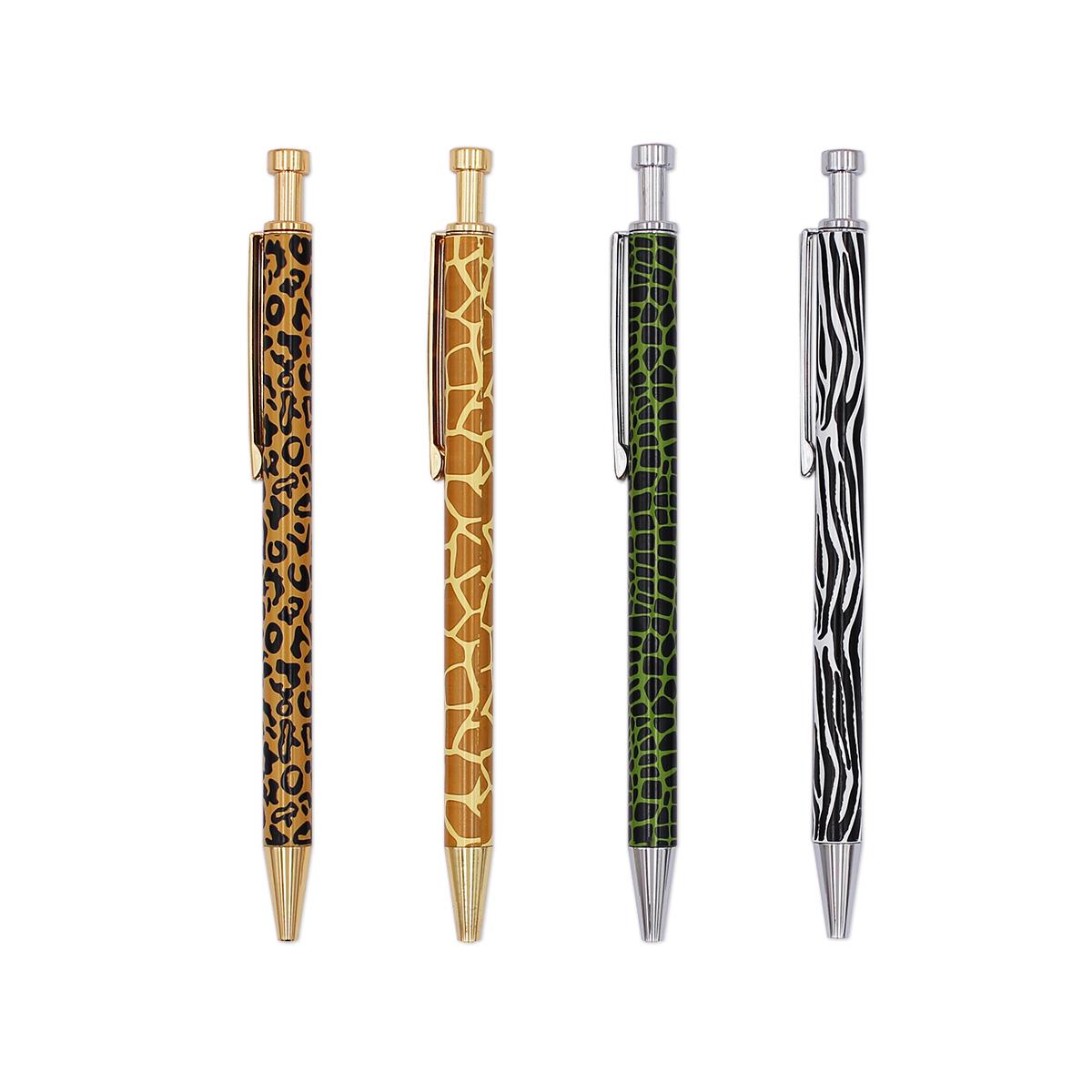 Модная индивидуальная ручка с леопардовым принтом