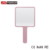 Professional hand cosmetic  mirror with handle