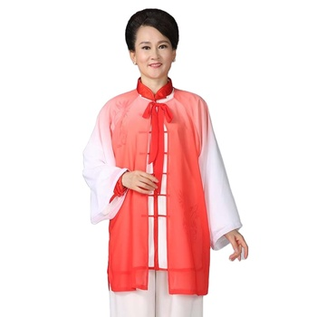 Hot sale 2020 new product Kungfu Uniform Gradient veil Tai Chi