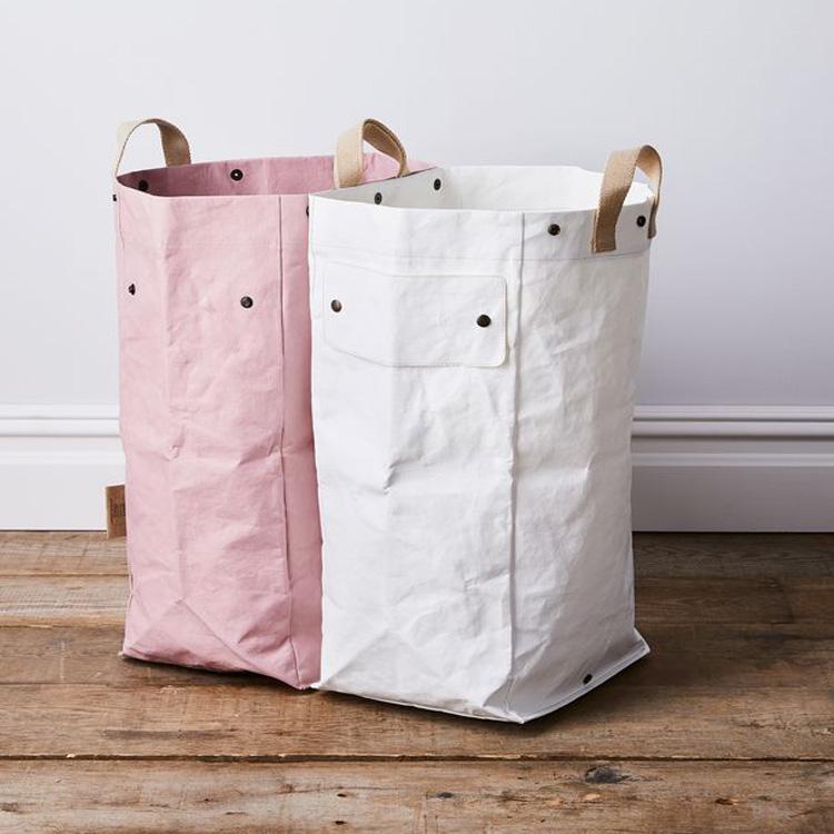 Индивидуальный Логотип, моющийся Модульный Пакет из крафт-бумаги, моющийся пакет для стирки из крафт-бумаги