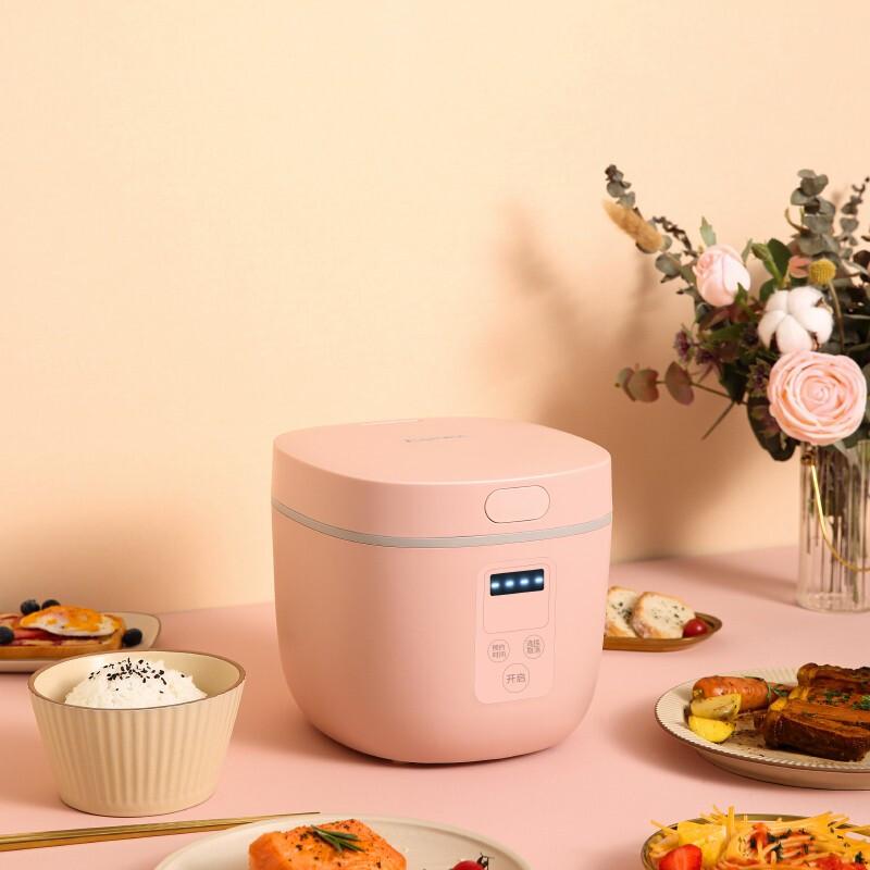 Миниатюрная электрическая рисоварка KONKA, Умная Автоматическая Бытовая кухонная Мультиварка на 1-2 человек, маленькая рисоварка
