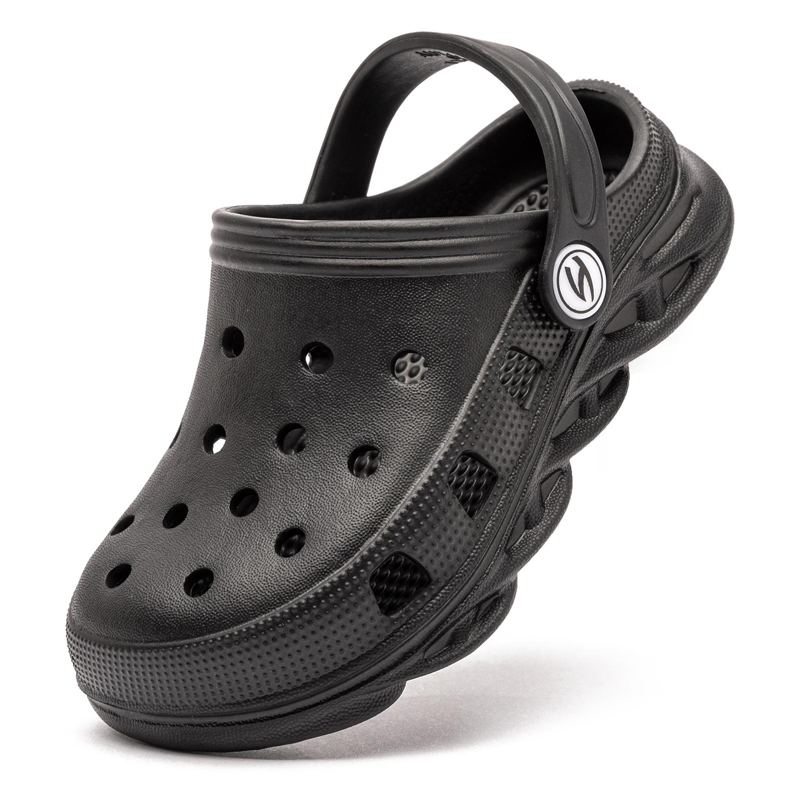 Hobibear 2021 Summer Walking Sandal EVA Black Medical Clogs for Women Garden Classical Shoes