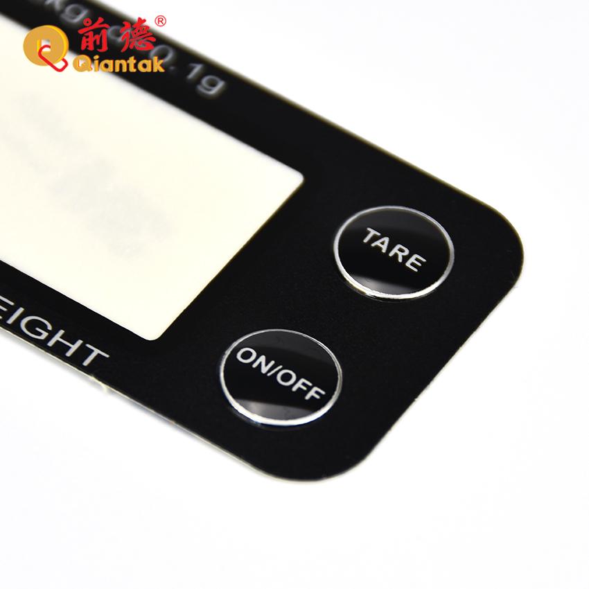 Высокое качество пользовательские ПК электронные весы панель управления с этикеткой принтера