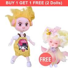 Dream Fairy 1/12 BJD кукла 26 шарнирное тело ob11 мини кукла с одеждой обувь 14 см милая детская Подарочная игрушка, имя от DODO(Китай)