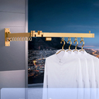 Clothes Stand Hanging Clothes Environment-friendly Dry Clothes Stand Wall Mount Balcony Rack Clothes Hanging Stand With High Quality Stand To Hang Clothes