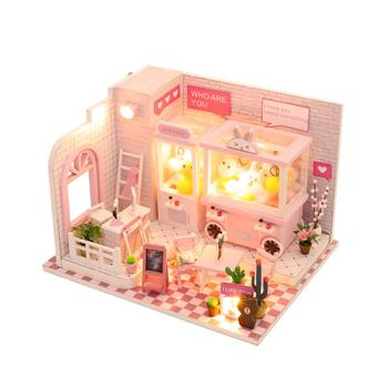 Easy handmade doll house meaningful birthday return gifts for kids