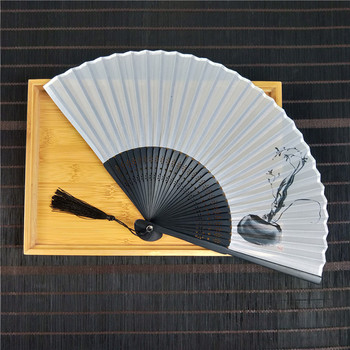 [i Am Your Fans]sufficient Stock! Chinese Calligraphy chinese painting Silk japanese hand fan