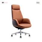 Drafting Chair Ergonomic Chair China Custom Drafting Comfort Ergonomic Leather Conference Room Office Chair Without Wheels