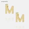 M - gold or rhodium
