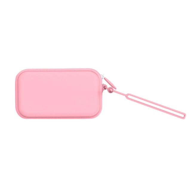 Мягкая и прочная силиконовая косметичка, сумка на молнии, кошелек для монет, силиконовая молния, не ржавеет