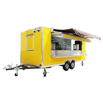 Mobile Ice Cream Cart Health Department Permitted Multipurpose Food Concession Trailer for Sale