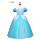 Dress Kids Costume Cinderella Dress Kids Girl Party Dress Christmas Costume Role-play Baby Princess Dress