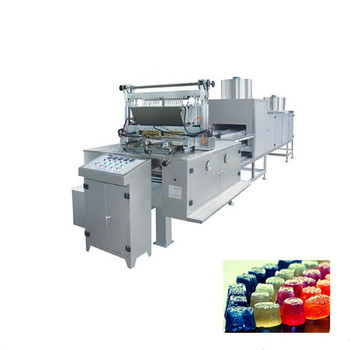 Hard Jelly Candy Depositing Machine Jelly Candy Production Line