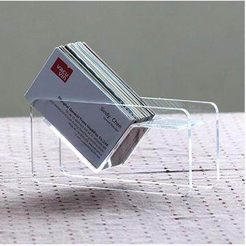Acrylic Clear Luxury Business Card Holder Display Stand Buy Card Holder Acrylic Business Card Holder Plexiglass Buisiness Card Display Stand Product On Alibaba Com