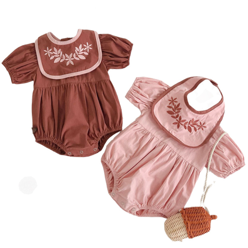 Girls in bodysuits pics 0 3yrs Baby Girls Clothes Puff Sleeve Baby Girls Bodysuits Embroidery Infant Girls Jumpsuits Summer Baby Bodysuit With Bibs Buy Soft Baby Cotton Romper Newborn Baby Jumpsuit Knitted Baby Jumpsuit Product On Alibaba Com