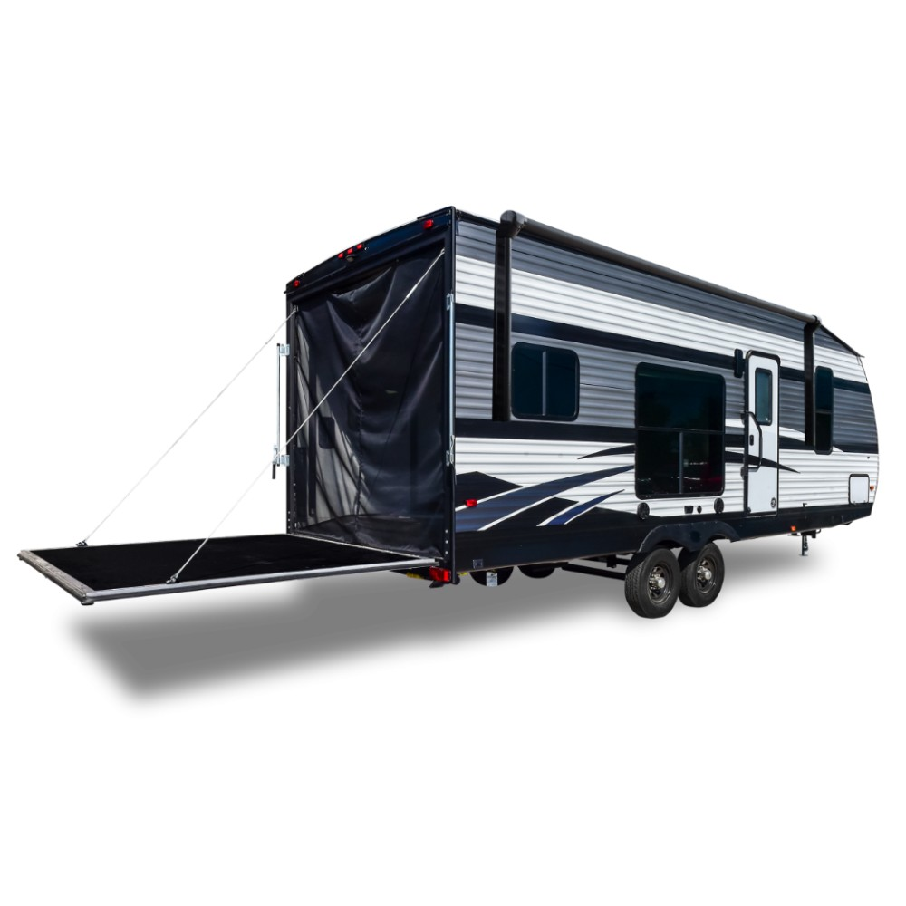2020 Custom Made Off Road Toy Hauler RV Camper w/ Folding Bed for Sales