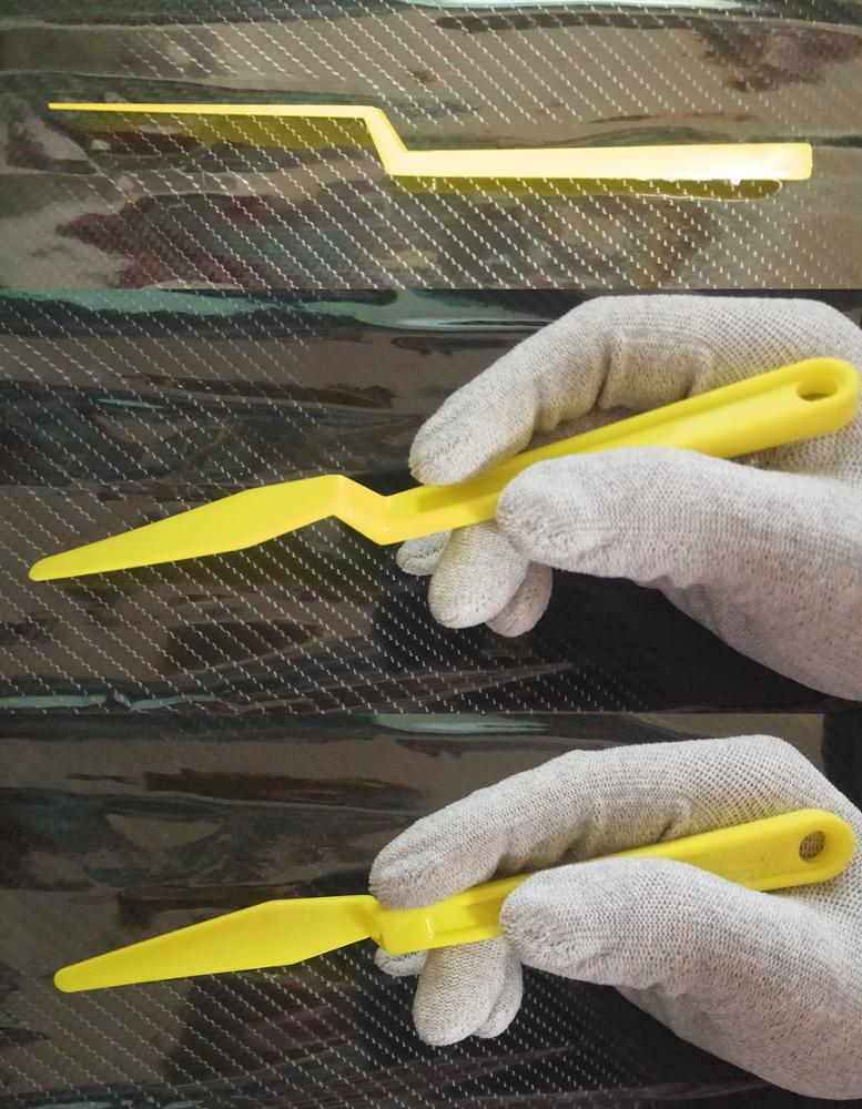 Автомобильная виниловая пленка, инструменты для скручивания, прокладка, микро-скребок, автомобильные наклейки, угол, украшение, скребок для окна, тонировка, применение A23