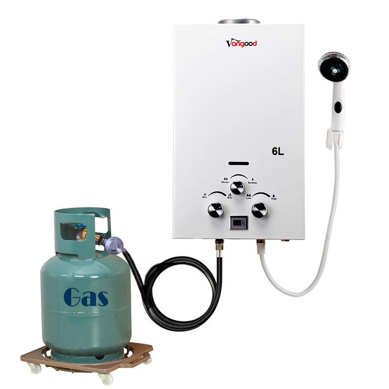 Природный котел 6 л до 8 л 10 л 12 л 14 л 16 л 20 л 24 л мгновенный газ безрезервуарный ГАЗ СНГ гейзер газ + вода + обогреватели