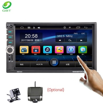 Universal MP5 digital video player mirrorlink/USB/FM/SD/AUX/Bluetooth/STEREO Remote Control Car Audio Stereo