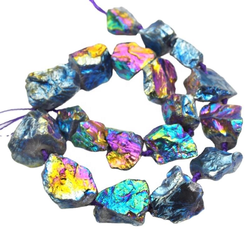 Mystic Rainbow Titanium Quartz Necklace