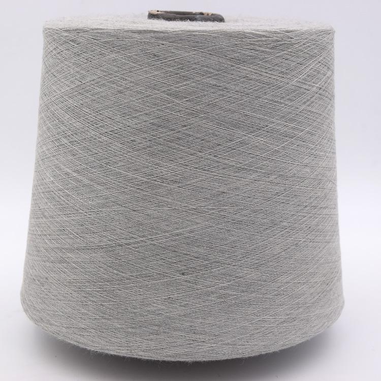 China Yarn Manufacturer Wholesale Colored 100%Polyester Yarn