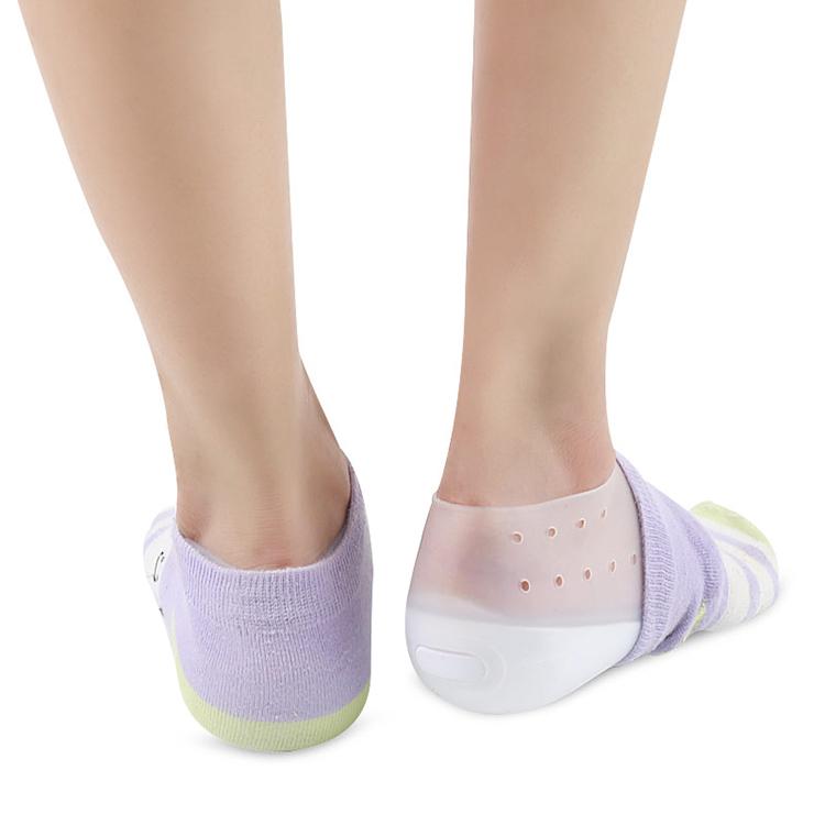 Новое поступление, гелевые стельки для увеличения роста пятки, невидимые вставки для обуви, защита пятки для мужчин и женщин