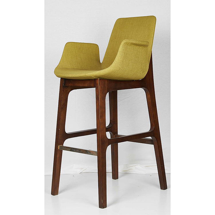 Hot Sale High Counter Bar Chairs ,Pu Leather Bar Stool With Footrest Barstool