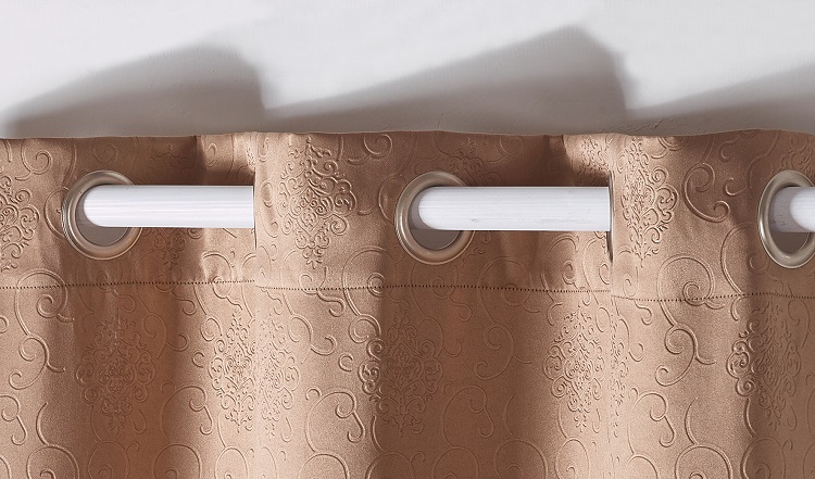 European luxury ready made curtains for hotels rooms