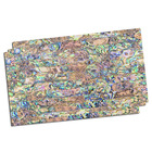 White Mother of Pearl (MOP) Shell Adhesive Veneer Sheet