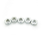 Nut Nuts High Quality Carbon Steel DIN934 Zinc Plated Hex Nut